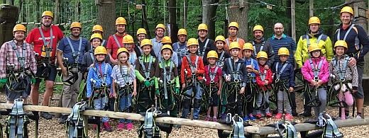 Teilnehmer Kletterwald