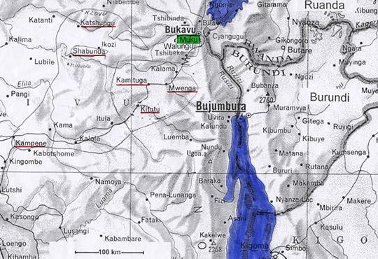 Landkarte von Muku